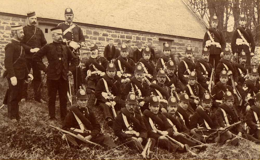 Photo: 8th 1st CVA Golspie - Caithnesss Volunteers Artillery