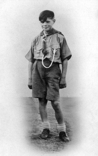 Photo: Caithness Scout - Named As Jimmy McLeod from Argyle Square