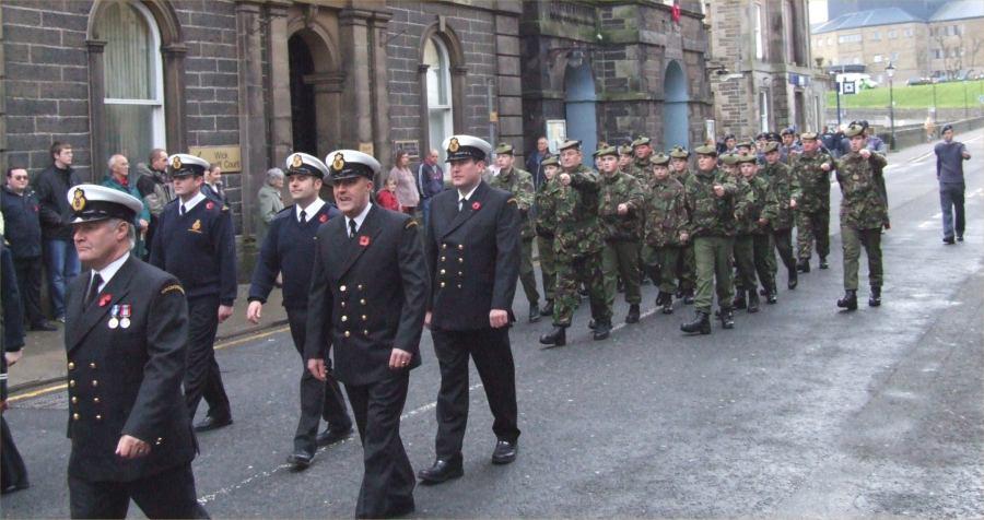 Photo: Remembrance Sunday Wick - 12 November 2006