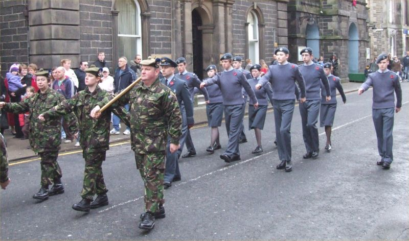 Photo: Remembrance Sunday Wick - 12 November 2006