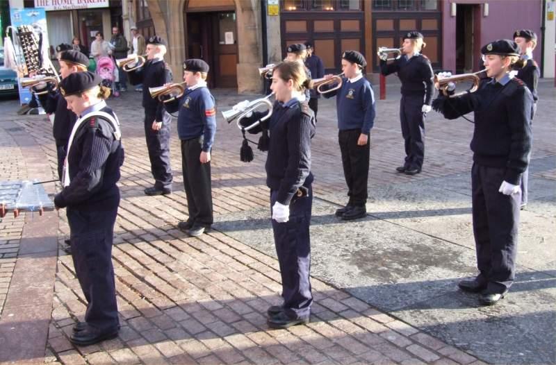 Photo: Wick Sea Cadet Recruitment Weekend