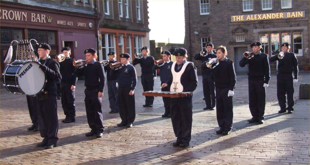 Photo: Wick Sea Cadet Recruitment Weekend