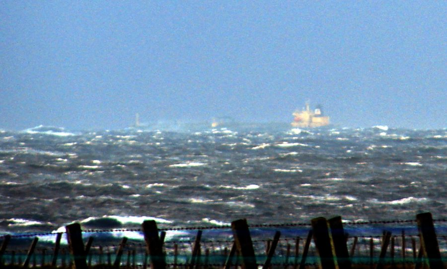 Photo: Possible Sighting Of Tanker In Trouble - FRB Venture In Pentland Firth