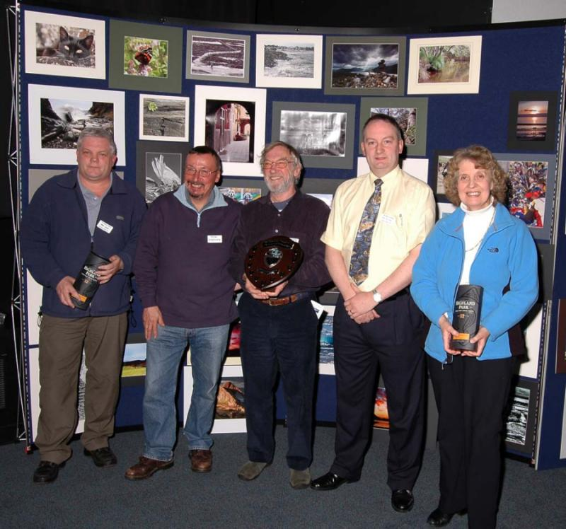Photo: The Winners At The Highland Challenge Photographic Competition 2006