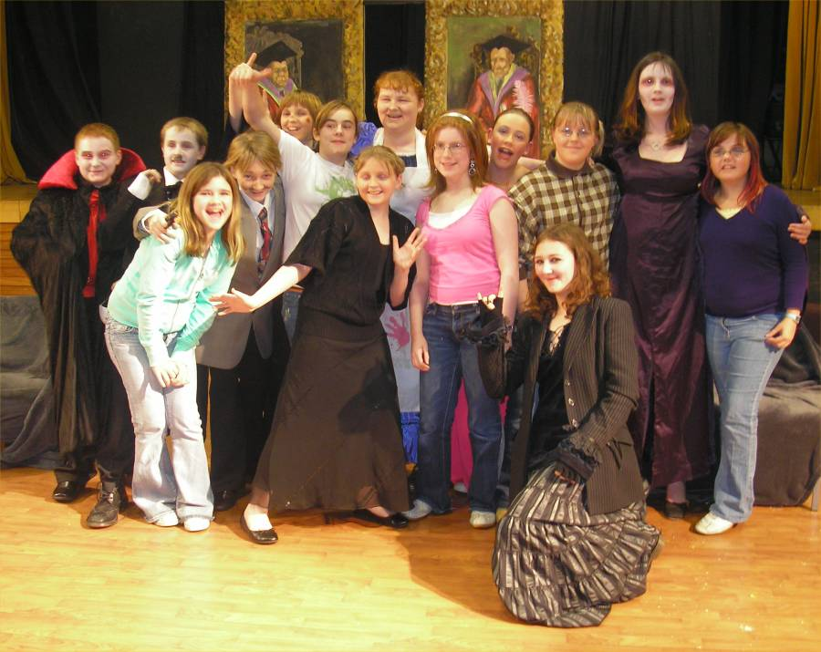 Photo: Wick High Drama Club Cast In Frankenstein's Guests