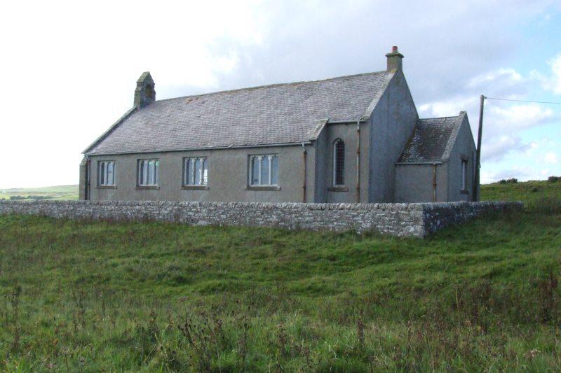 Photo: Bruan Church Closes - Final Service 6.30pm Sunday 29 October 2006