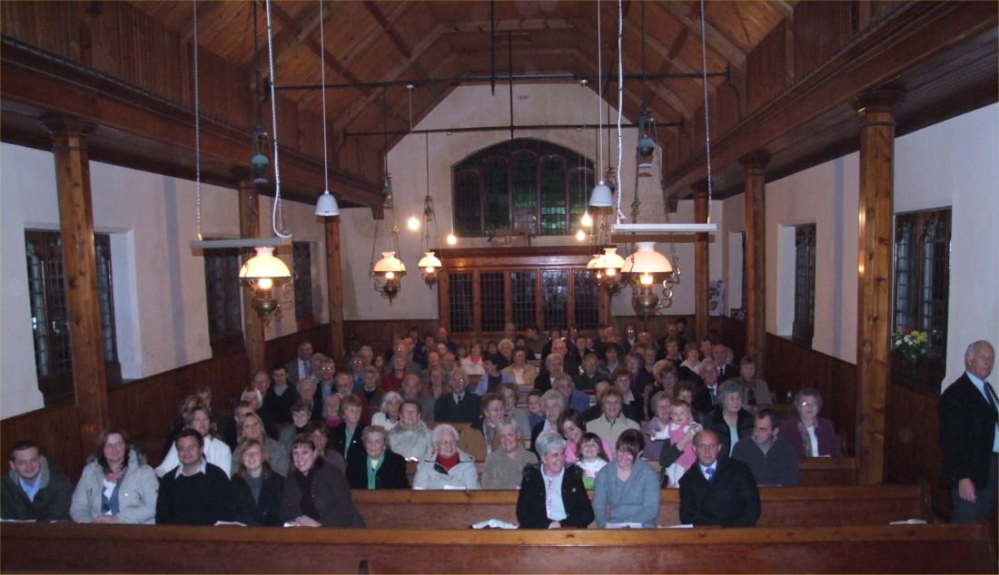 Photo: Bruan Church Closes - Final Service 6.30pm Sunday 29 October 2006