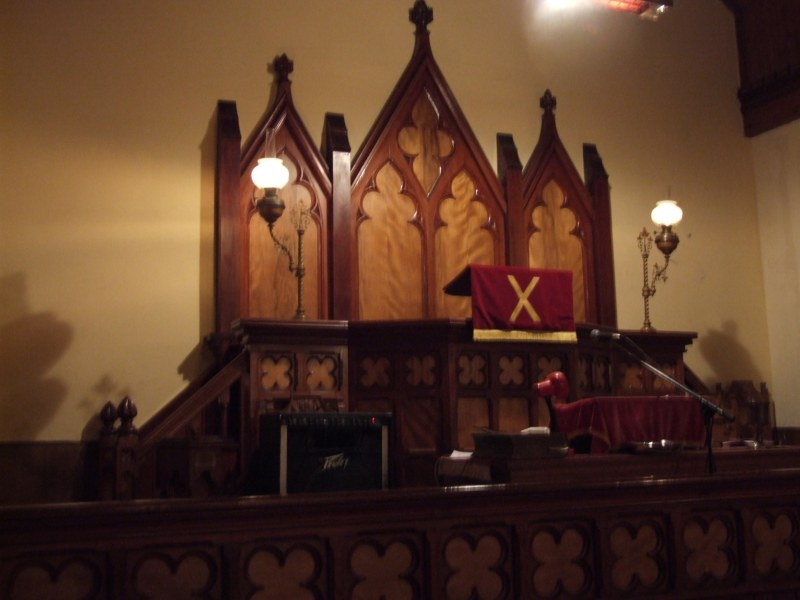 Photo: Inside Bruan Church -  29 October 2006
