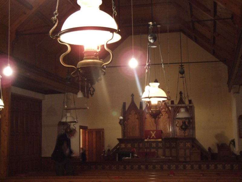 Photo: Paraffin Lamps Originating From 1901 Lit For The Last Service