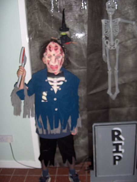 Photo: Halloween At Staxigoe Hall 2006