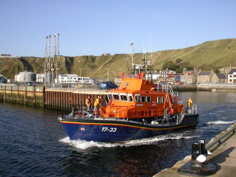Photo: The Beth Sell Relief Lifeboat At Scrabster
