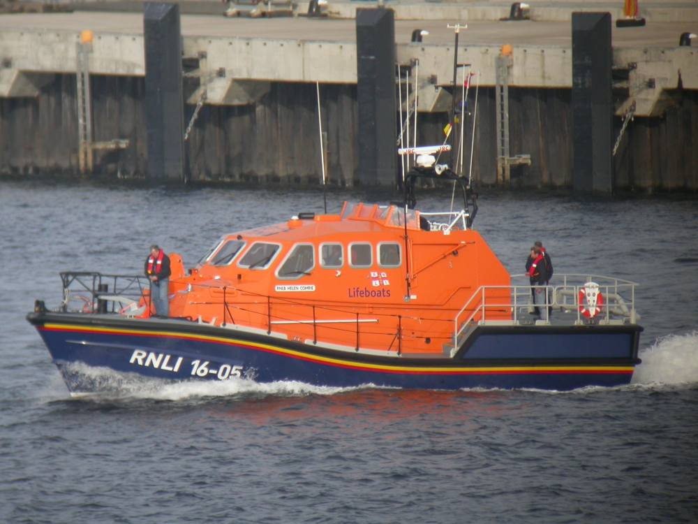 Photo: The new Longope Lifeboat - Helen Comrie At Scrabster