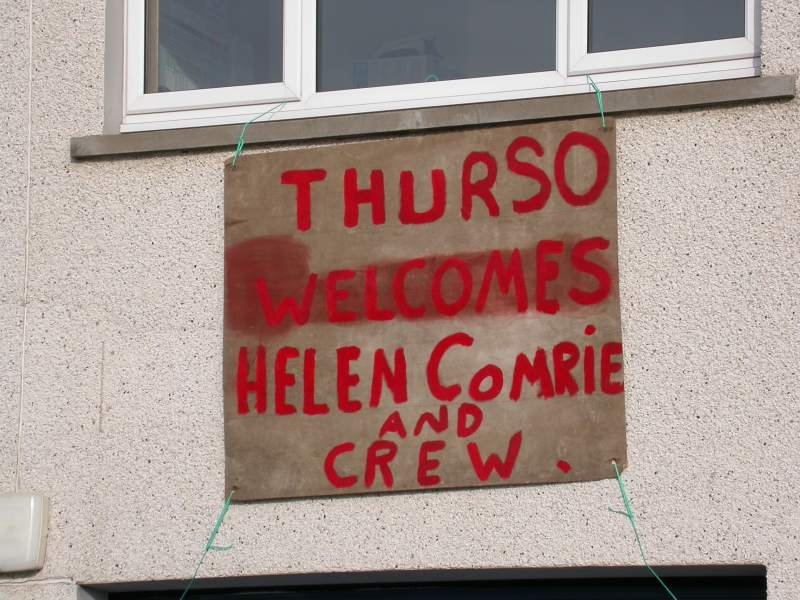 Photo: Welcome For Longope Lifeboat At Scrabster