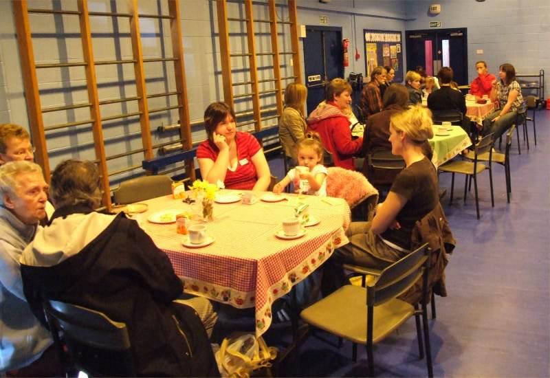 Photo: MacMillan Coffee Morning - South School, Wick