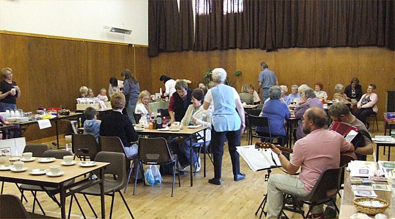 Photo: MacMillan Coffee Morning - Clyth Village Hall