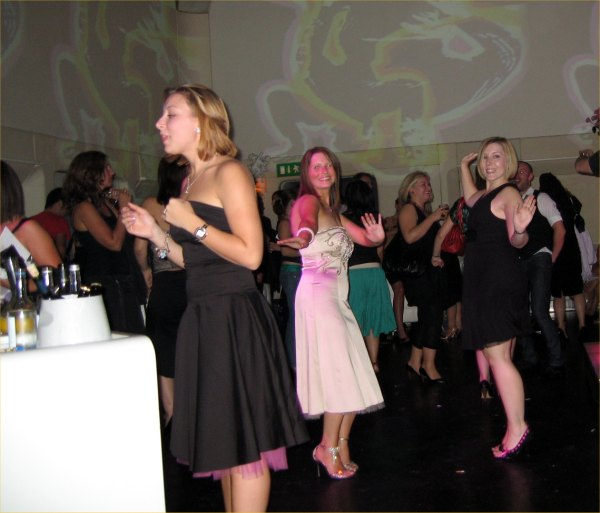Photo: Kerry Smith middle Dancing With Other Winners At Sketch Night Club
