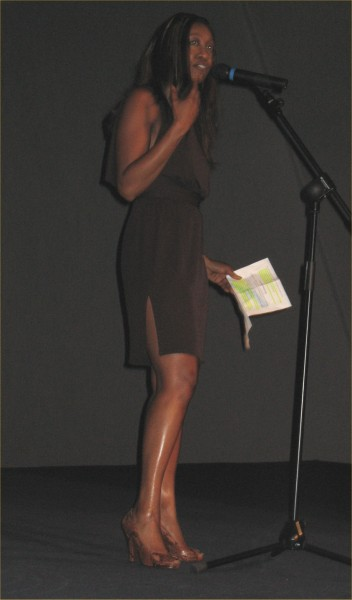 Photo: Beverley Knight Making The opening Speech At The Film Premiere