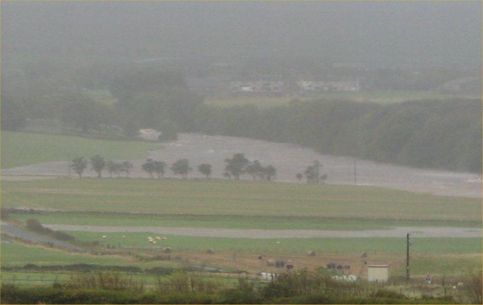 Photo: Thurso River At Halkirk Flood