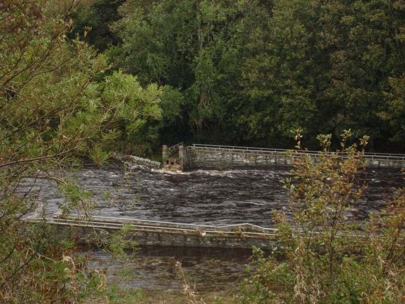 Photo: Thurso Cemetery Bridge Washed Away