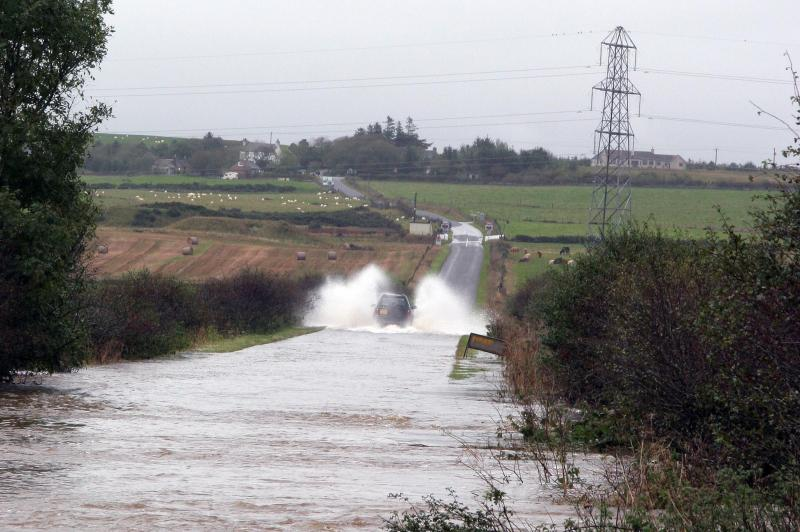 Photo: Thurso River In Spate - Hoy Brae