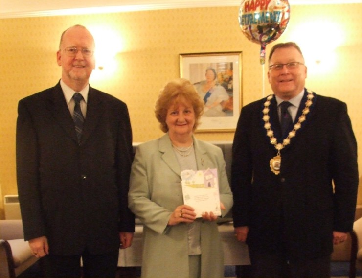 Photo: Zena Sinclair Says Goodbye To The Caithness Councillors