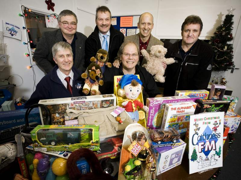Photo: Christmas Gift Appeal Donation From Dounreay