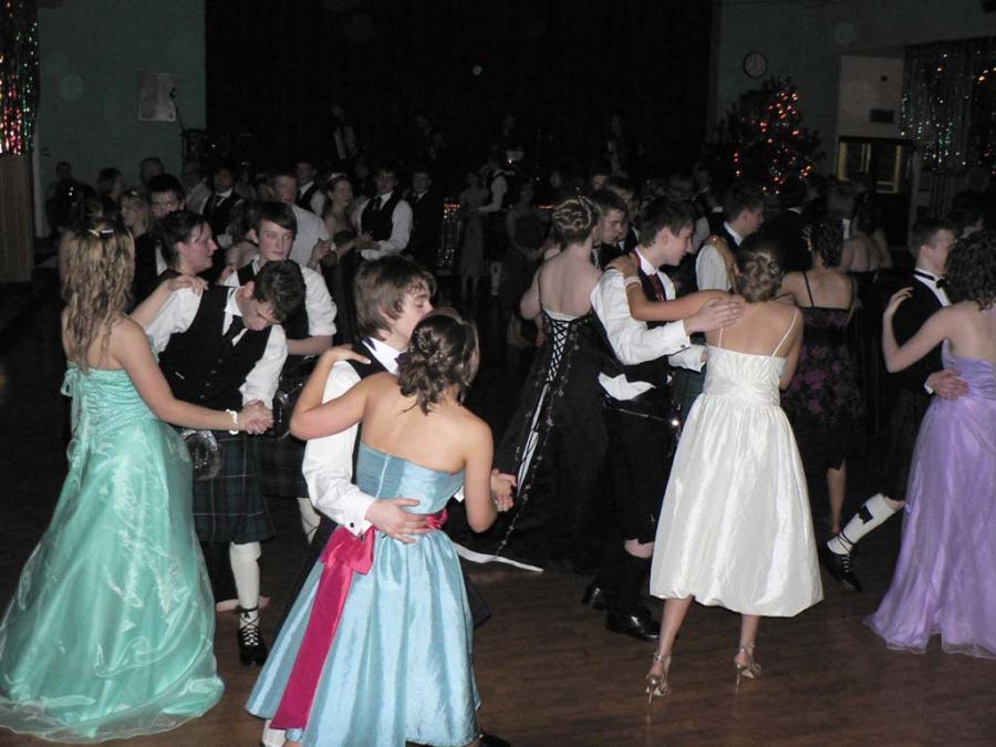 Photo: Wick High School Prom 2007