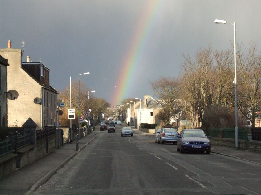 Photo: A Rainbow Over Wick - 4 February 2007