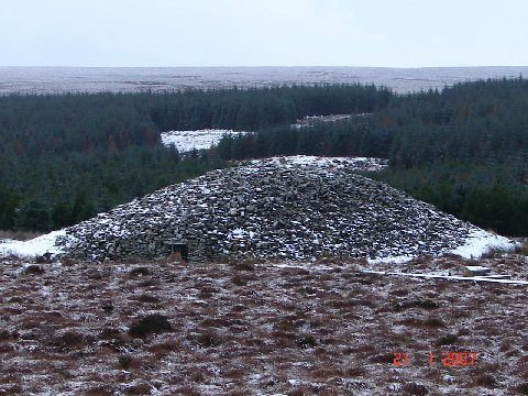 Photo: Camster Cairn
