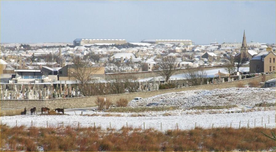 Photo: Light Snow In Wick - 6 February 2006