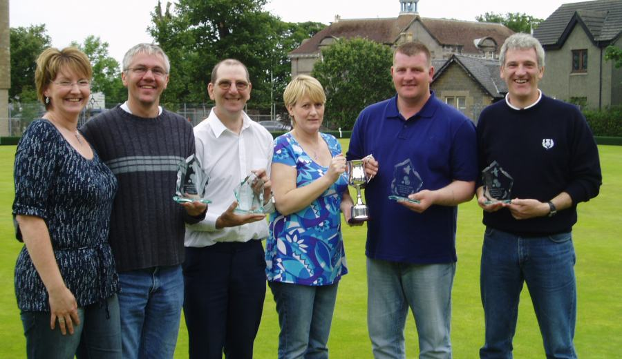 Photo: Winners Of The Dorothy Budge Memorial Bowling Competition 2007