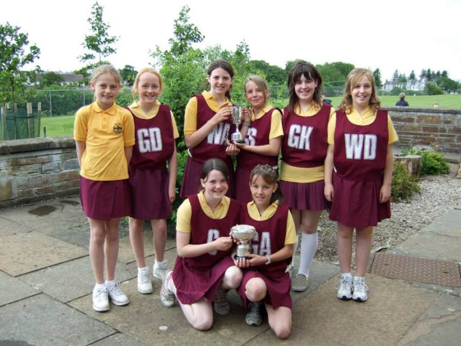 Photo: Winning Halkirk Netball Team Of 2007