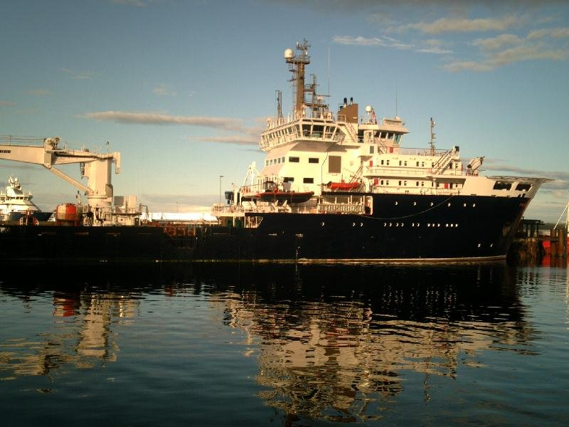Photo: MV Pharos At Scrabster New Vessel Of The Northern Lighthouse Board