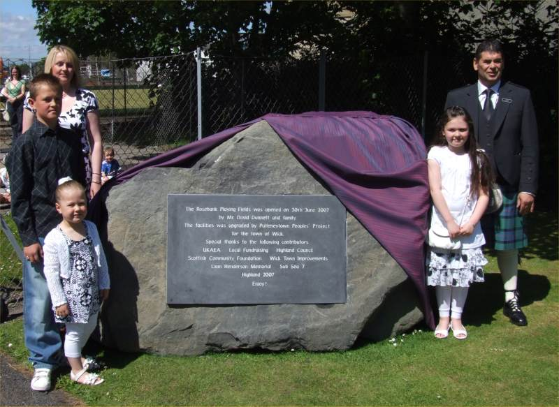 Photo: Rosebank Park, Wick Re-opened After £125,000 Refurbishment Programme