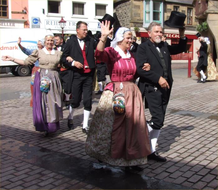 Photo: De Schermer Dansers In Market Sqeare, Wick