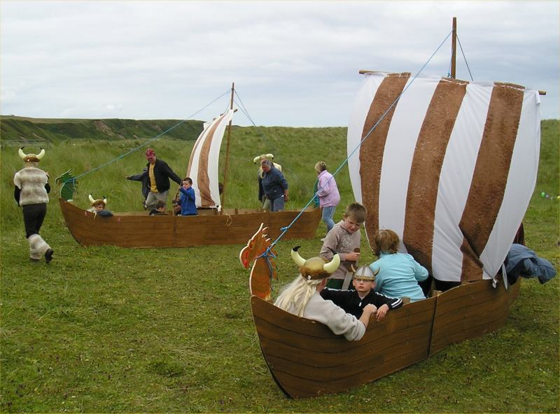 Photo: After The Viking Boats Were Built