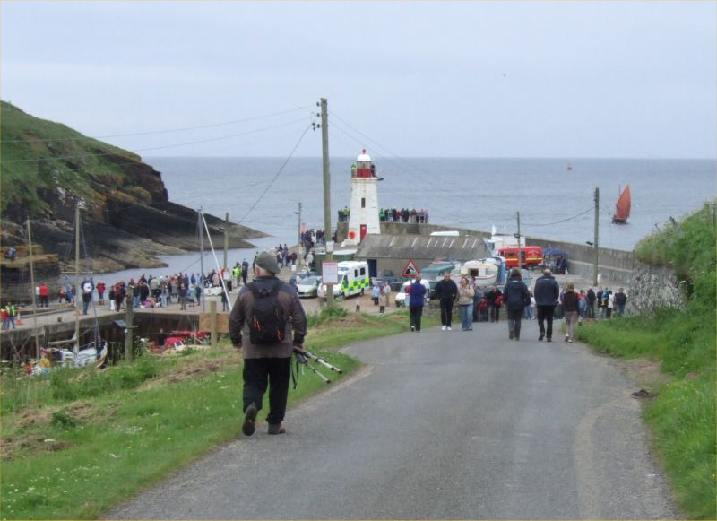 Photo: Harbour Day At Lybster To Welcome The Flotilla