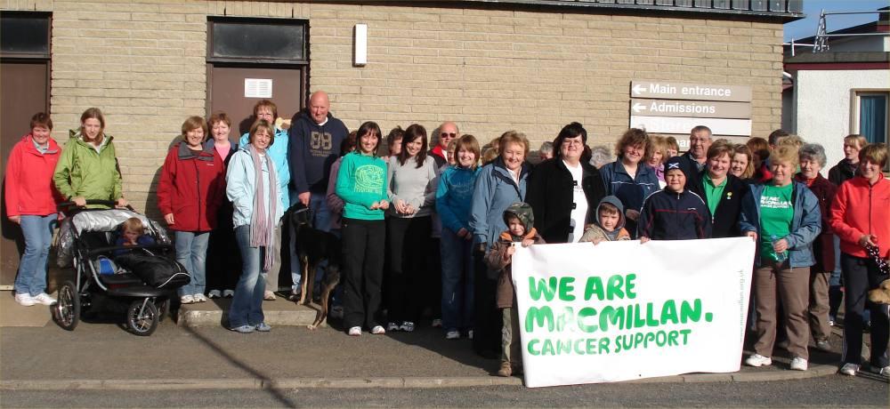 Photo: MacMillan Cancer Care Walk Had Good Turnout