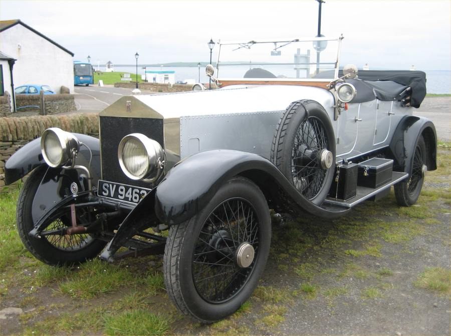 Photo: Rolls Royce At John O'Groats