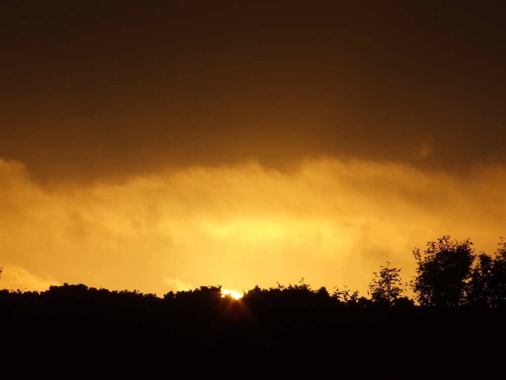 Photo: Sunset In Caithness 4 June 2007