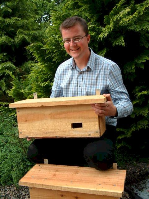 Photo: Johnathan Willet With Two Of The Free Swift Boxes