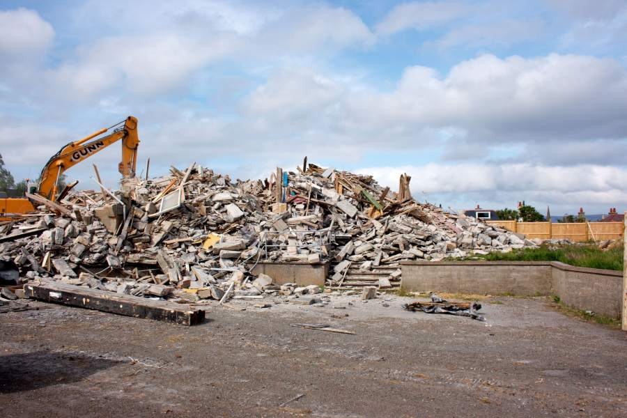 Photo: Viewfirth After Demolition