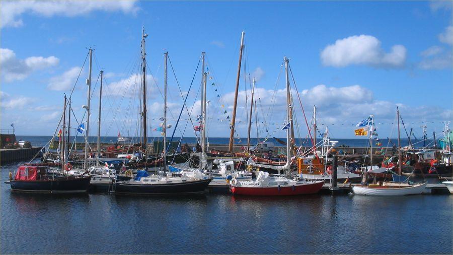 Photo: Flotilla At Helmsdale 9.30am 26 June 2007