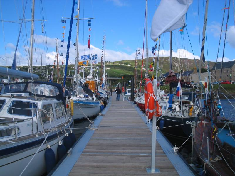 Photo: Flotilla At Helmsdale 9.30am 26 June 2007