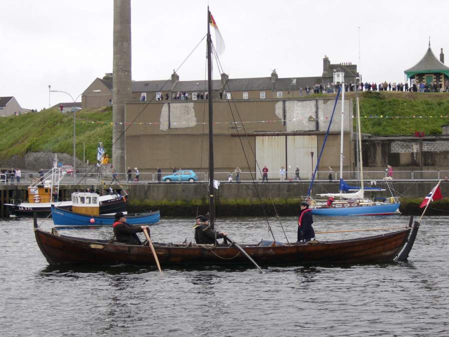Photo: Wick Harbourfest Views Taken From On Board Sarosa