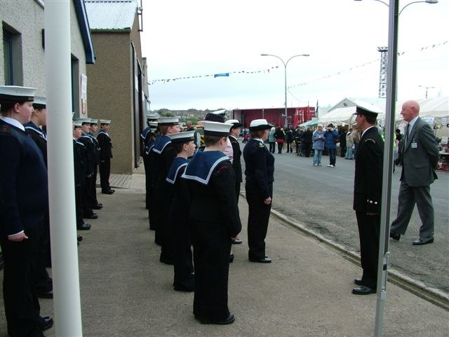 Photo: Sea Cadets At Wick Harbourfest