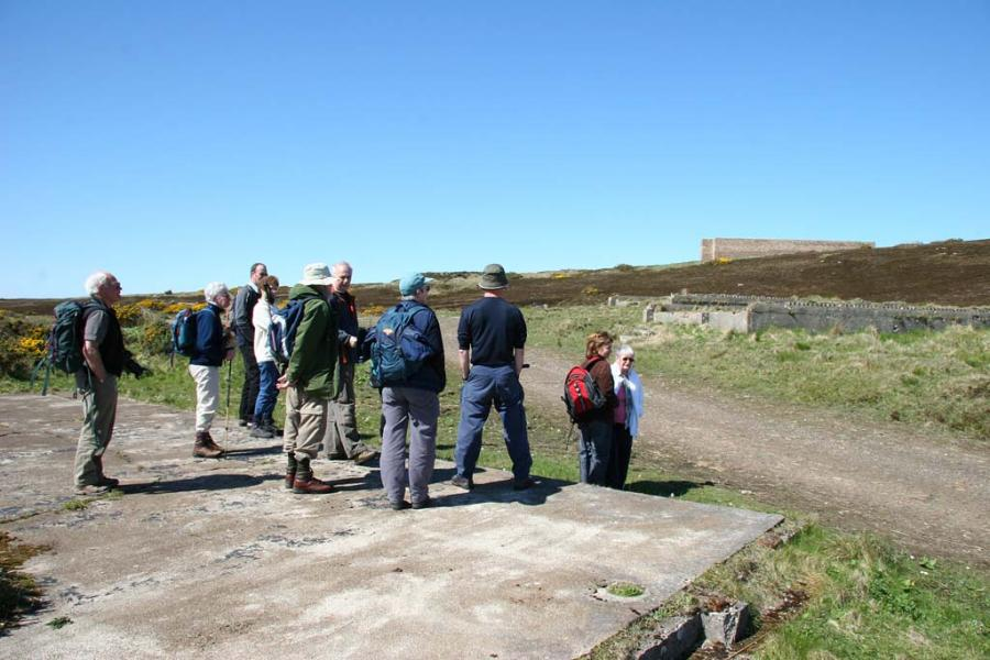 Photo: Site of main GEE radio navigation station, Burifa Hill