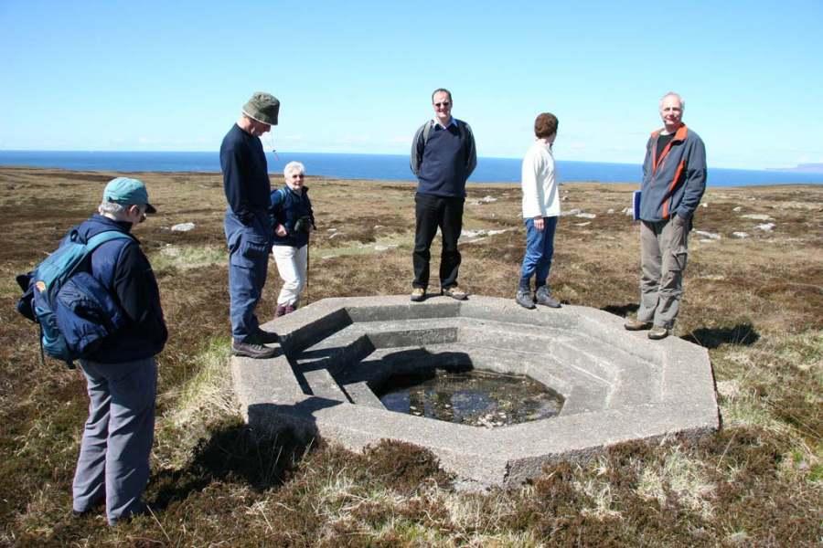 Photo: Anti-aircraft gun emplacement