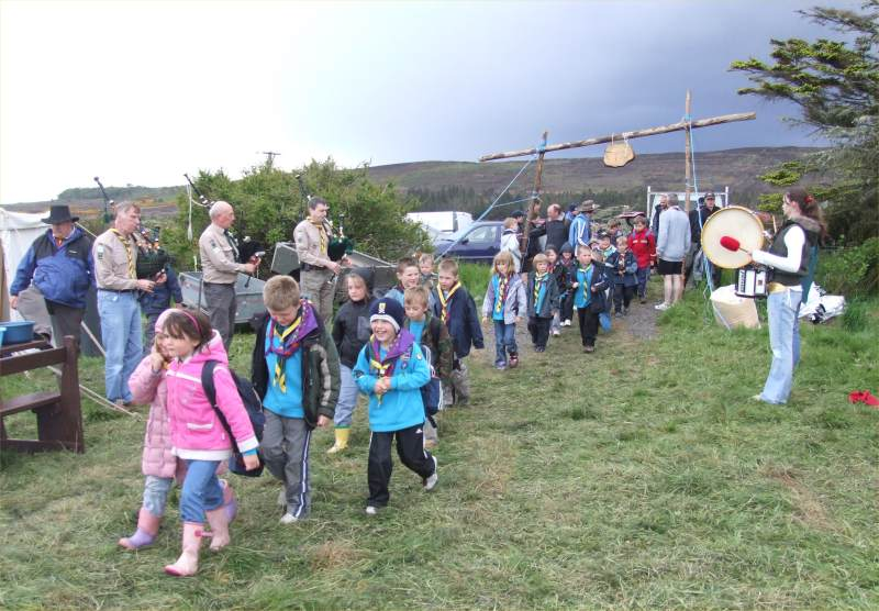 Photo: Caithness Scouts Celebrating 100 Years Of Scouting At Rumster Forest Camp