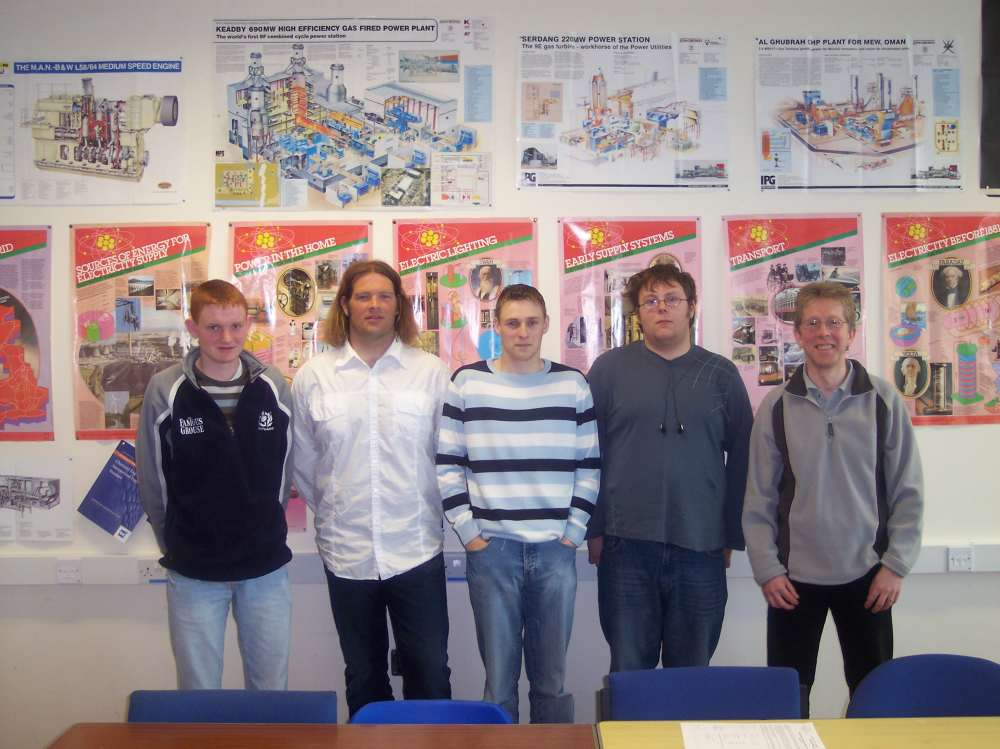 Photo: UKAEA's Sponsorship Of Engineering Students At North Highland College